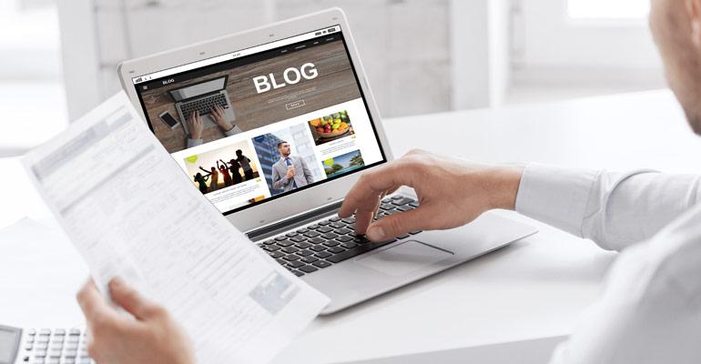 5 razlogov za blog na spletni strani podjetja