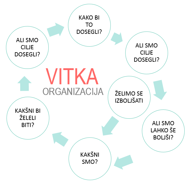 Delovanje vitke organizacije